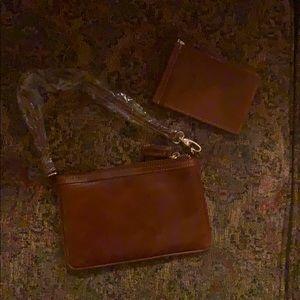 Leather Barrington Clutch and Card Holder